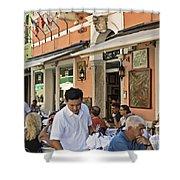 Murano Cafe Shower Curtain