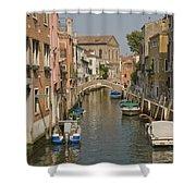 Murano Canal 4329 Shower Curtain