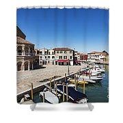 Murano Italy Shower Curtain