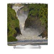 Murchison Falls, Uganda Shower Curtain