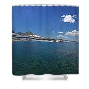 Muriel Lake Shower Curtain