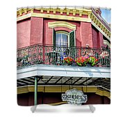 Muriels On The Square _ Nola Shower Curtain
