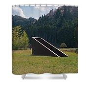 Murou Sculpture Shower Curtain