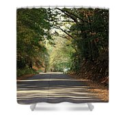 Murphy Mill Road Shower Curtain