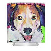 Murphy Shower Curtain by Pat Saunders-White