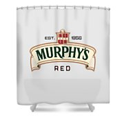 Murphys Irish Red Shower Curtain
