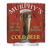 Murphy's Tavern Shower Curtain