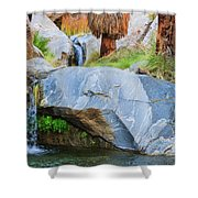 Murray Canyon Falls Shower Curtain