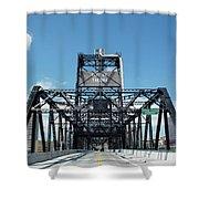 Murray Morgan Bridge, Tacoma, Washington Shower Curtain