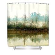 Muscatatuck Morning Shower Curtain