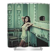 Muscle Xtx Shower Curtain