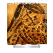 Muse - Tile Shower Curtain