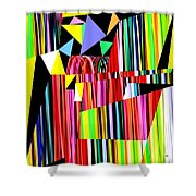 Muse 12 Shower Curtain
