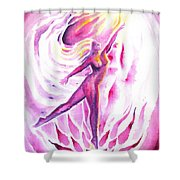 Muse Of Dance Shower Curtain