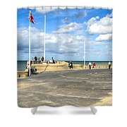 Musee Du Debarquement D Day Museum Shower Curtain