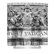 Musei Vaticani Shower Curtain