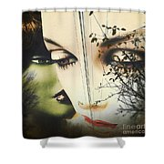 Muses Shower Curtain