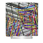 Museum Atrium Art #2 Shower Curtain