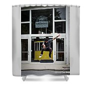 Museum Cool Shower Curtain