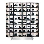 Museum Display Shower Curtain