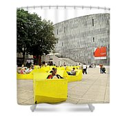 Museum Modener Kunst Shower Curtain