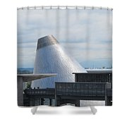 Museum Of Glass 7 Shower Curtain