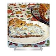 Mushroom And Crab Savory Cheesecake Shower Curtain