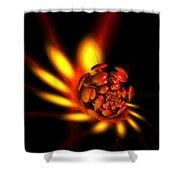 Mushrooms Of Passion Shower Curtain