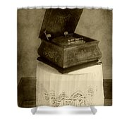 Music Box Memories Shower Curtain