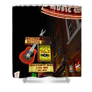 Music City Nashville Shower Curtain
