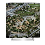 Music Concourse At Golden Gate Park In San Francisco Shower Curtain