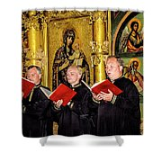 Music For Mary Shower Curtain