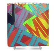 Music For The Eyes Shower Curtain