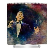Music Icons - Michael Buble IIi Shower Curtain