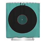 Music Is An Outburst Of The Soul Poster Shower Curtain