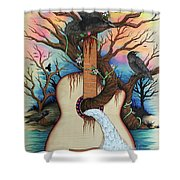 Music Is My Nature Shower Curtain