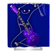 Music Lady Shower Curtain