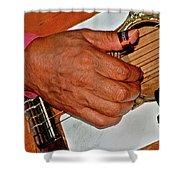 Music Maker Shower Curtain