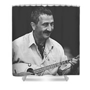 Music Makes People Happy Shower Curtain