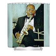 Music Man Saxophone 2 Shower Curtain