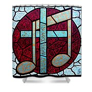 Music Of The Cross Shower Curtain