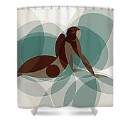 Music Of The Spheres #1 Shower Curtain