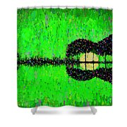Music World - Da Shower Curtain