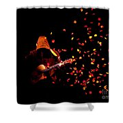 Musical Appirition Shower Curtain
