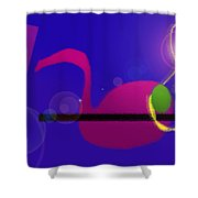 Musical Breakdown Shower Curtain