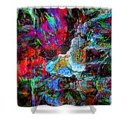 Musical Fountain Shower Curtain