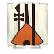 Musical Instruments 2 Shower Curtain
