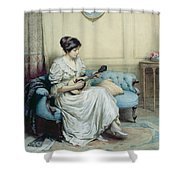 Musical Interlude Shower Curtain