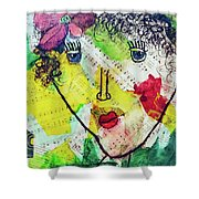 Musical Lady Shower Curtain