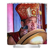 Musical Monk Shower Curtain